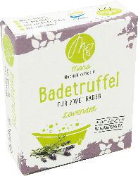 Mara Naturkosmetik Badetrüffel für 2 Bäder Lavendel