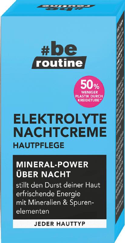 b.e. routine Nachtcreme Elektrolyte