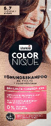 Balea COLORNIQUE Tönungsshampoo 6.7 Macadamia Brown
