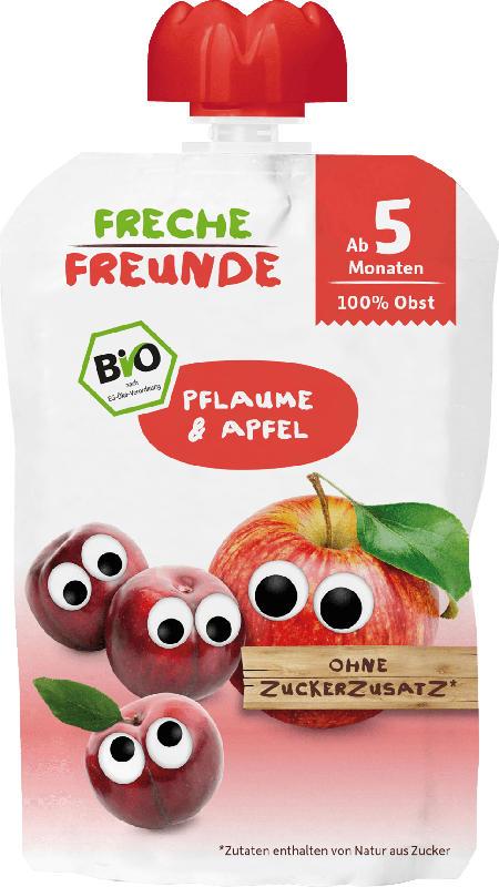Freche Freunde U1 Quetschie Pflaume & Apfel