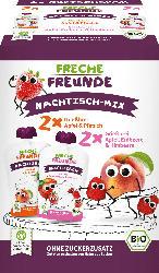 Freche Freunde Quetschie Nachtisch-Mix, 4x100g