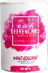 Oatsome Smoothie Bowl; Pulver in der Dose; Alice im Beerenland