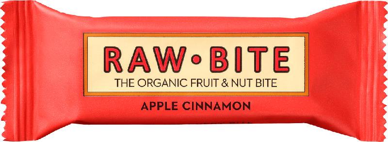 raw bite Rohkost-Riegel apple cinnamon, mit Apfel & Zimt