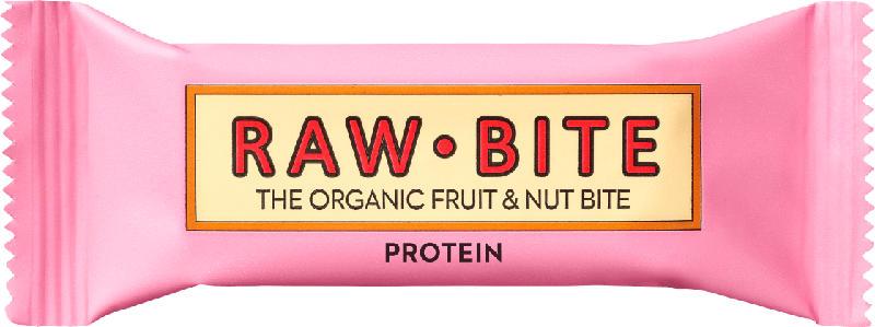 raw bite Rohkost-Riegel mit Protein