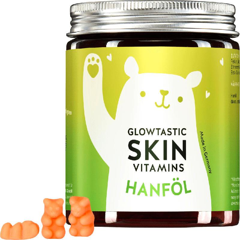 Bears with benefits Glowtastic Skin Vitamins Hanföl 30 St.