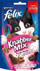 Felix Snack für Katzen, KnabberMix, Picnic Party