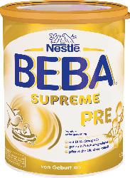 Nestlé BEBA Anfangsmilch Pre Supreme von Geburt an