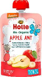 Holle baby food Quetschie Apple Ant, Apfel mit Banane & Birne ab 6 Monaten