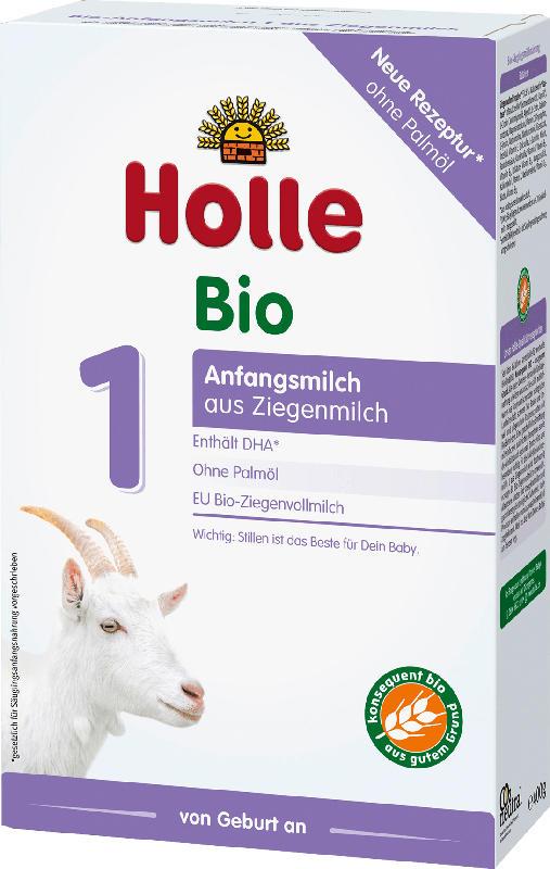 Holle baby food Anfangsmilch 1 Bio auf Ziegenmilchbasis von Geburt an