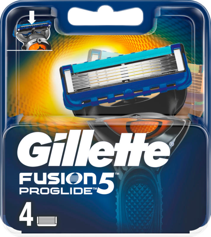 Gillette Fusion ProGlide Manual Rasierklingen