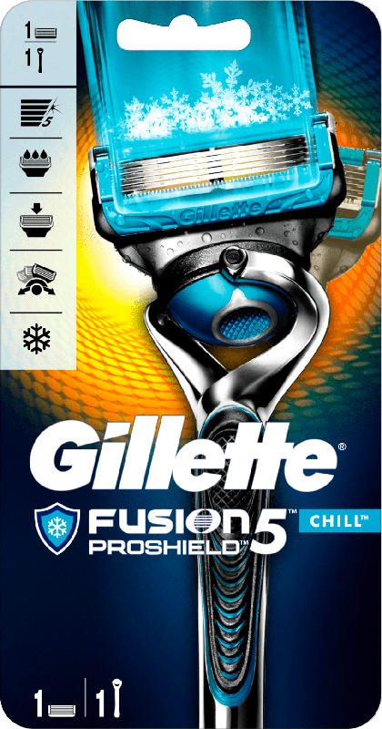 Gillette ProShield Hautschutz Chill Rasierer