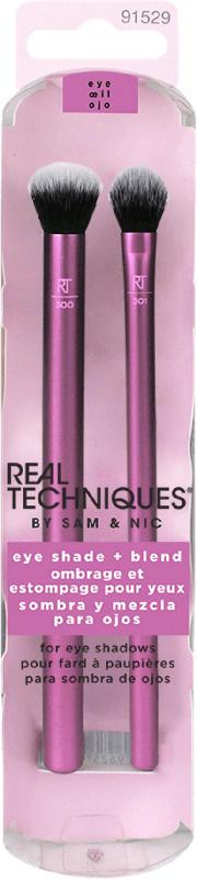 REAL TECHNIQUES Lidschattenpinsel Eye Shade + Blend