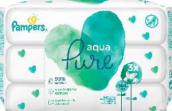 Pampers Feuchttücher Aqua Pure 3x48 Stück