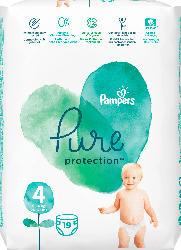 Pampers Windeln Pure Protection, Größe 4, 9-14 kg, Tragepack