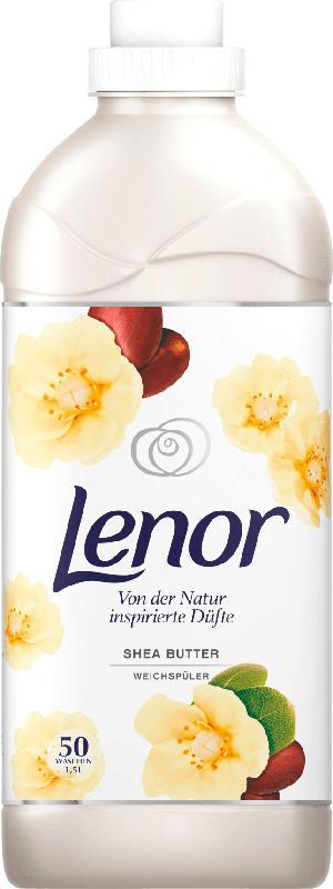 Lenor Weichspüler Shea Butter 50 Wl