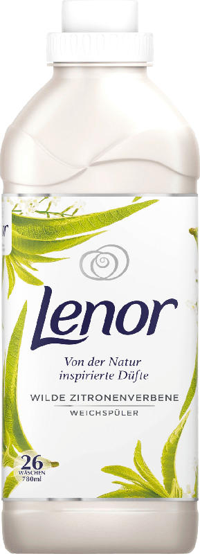 Lenor Weichspüler Wilde Zitronenverbene 26 Wl