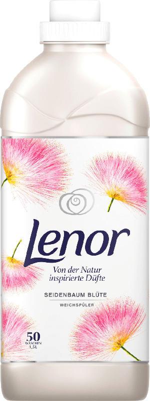 Lenor Weichspüler Seidenbaum Blüte 50 Wl