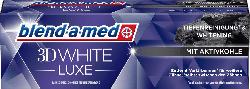 blend-a-med Zahnpasta 3D white luxe mit Aktivkohle