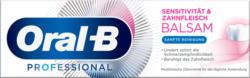 Oral-B Zahnpasta Sensitivität & Zahnfleisch Balsam sanfte Reinigung