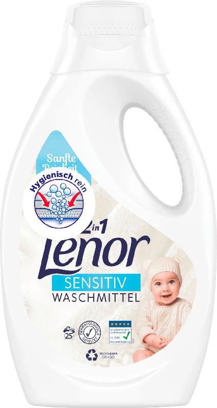 Lenor Vollwaschmittel sensitiv flüssig