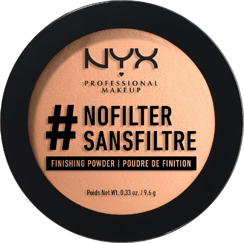 NYX PROFESSIONAL MAKEUP Puder #NoFilter Finishing Powder Medium Olive 07