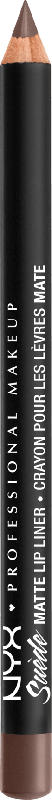 NYX PROFESSIONAL MAKEUP Suede Matte Lipliner Brooklyn Thorn 21