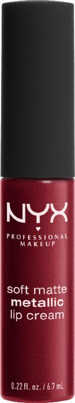 NYX PROFESSIONAL MAKEUP Lippenstift Soft Matte Metallic Lip Cream Copenhagen 02