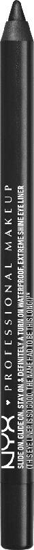 NYX PROFESSIONAL MAKEUP Eyeliner Slide On Pencil Black Sparkle 02