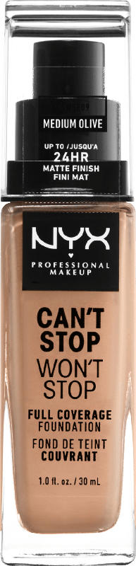 NYX PROFESSIONAL MAKEUP Make-up Can't Stop Won't Stop 24-Hour Foundation medium olive 09