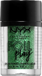 NYX PROFESSIONAL MAKEUP Lidschatten Foil Play Cream Pigment digital glitch 06
