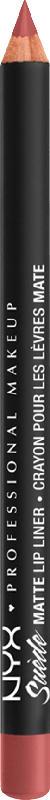 NYX PROFESSIONAL MAKEUP Suede Matte Lipliner brunch me 53