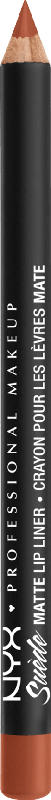NYX PROFESSIONAL MAKEUP Suede Matte Lipliner peach don't kill my vibe 56