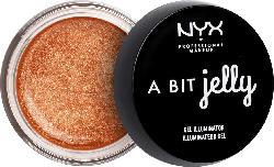 NYX PROFESSIONAL MAKEUP Highlighter A Bit Jelly Gel Illuminator Bronze/Fresh 03