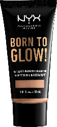 NYX PROFESSIONAL MAKEUP Make-up Born To Glow Naturally Radiant Foundation Soft Beige 07.5