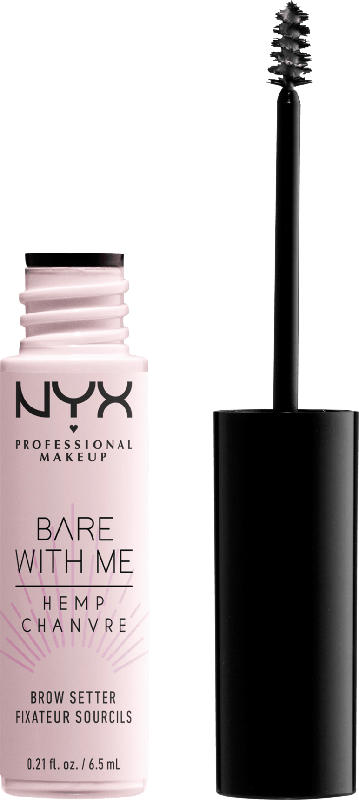 NYX PROFESSIONAL MAKEUP Augenbrauengel Bare Withe Me Hemp Brow Setter