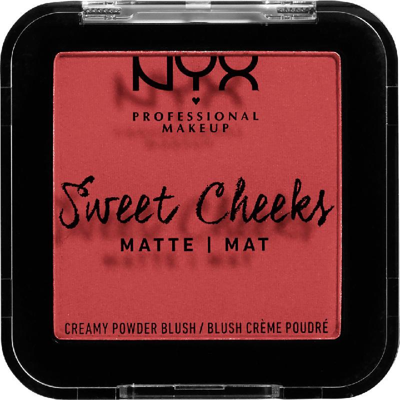 NYX PROFESSIONAL MAKEUP Rouge Sweet Cheeks Blush Matte Citrine Rose 04