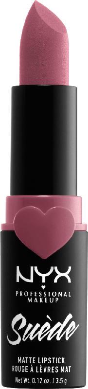 NYX PROFESSIONAL MAKEUP Lippenstift Suede Matte Lipstick Soft Spoken 28