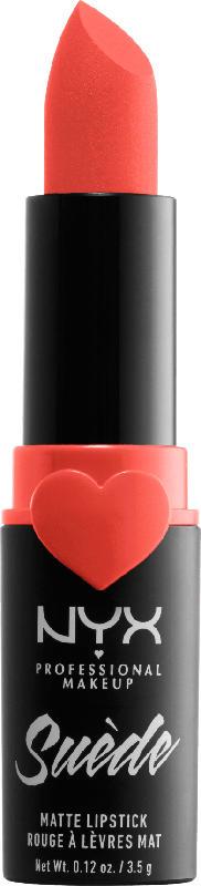 NYX PROFESSIONAL MAKEUP Lippenstift Suede Matte Lipstick Orange County 29