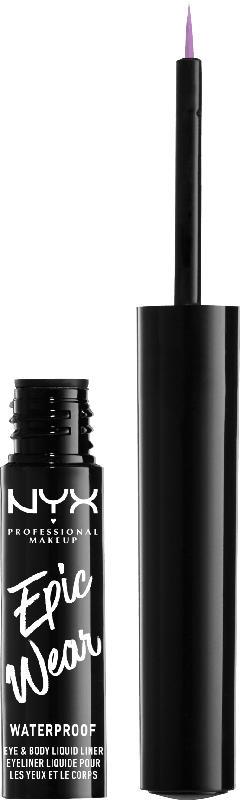 NYX PROFESSIONAL MAKEUP Eyeliner Epic Wear Semi Permanent Liquid Liner Lilac 06
