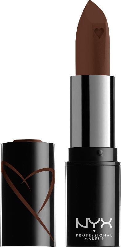 NYX PROFESSIONAL MAKEUP Lippenstift Shout Loud Satin Lipstick Grind 15