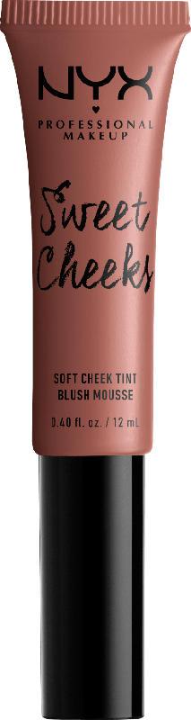 NYX PROFESSIONAL MAKEUP Rouge Sweet Cheeks Soft Cheek Tint Nude´Tude 01
