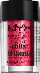 NYX PROFESSIONAL MAKEUP Face and Body Glitter red 09