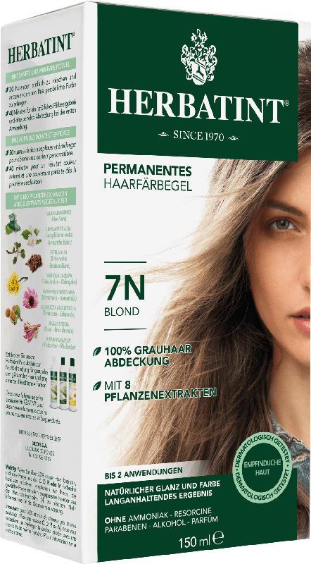 Herbatint Haarfarbe Gel Blond 7N
