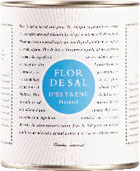 Flor de Sal d'Es Trenc Flor de Sal, Meersalz natural in der Dose