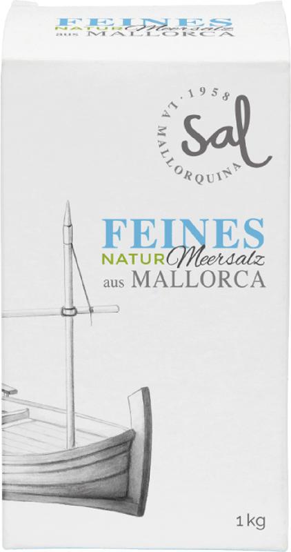 Sal La Mallorquina Flor de Sal, Meersalz fein