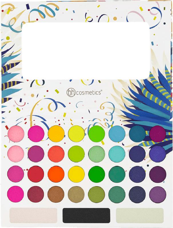 BH Cosmetics Lidschattenpalette Take Me Back To Brazil - 35 Farben
