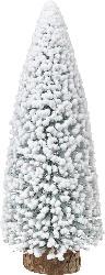 Dekorieren & Einrichten Kunststofftannenbaum beschneit