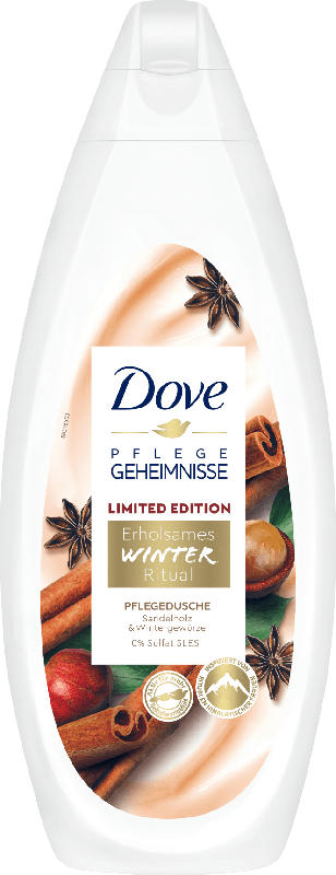 Dove Cremedusche Winter Ritual Sandelholz & Wintergewürze