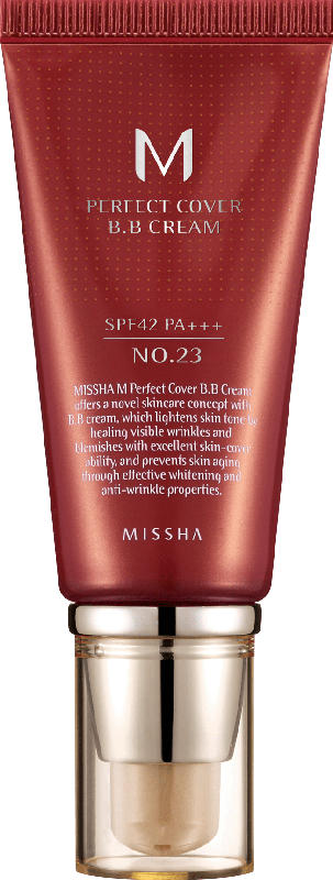 Missha Tagescreme Getönt M Perfect Cover BB Cream LSF42 No.23 / Natural Beige