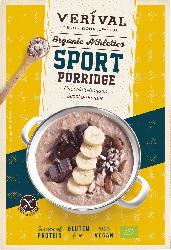 Verival Porridge, Sport-Porridge Schoko-Banane, glutenfrei